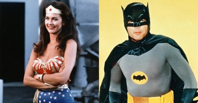 adam west lynda carter batman wonder woman