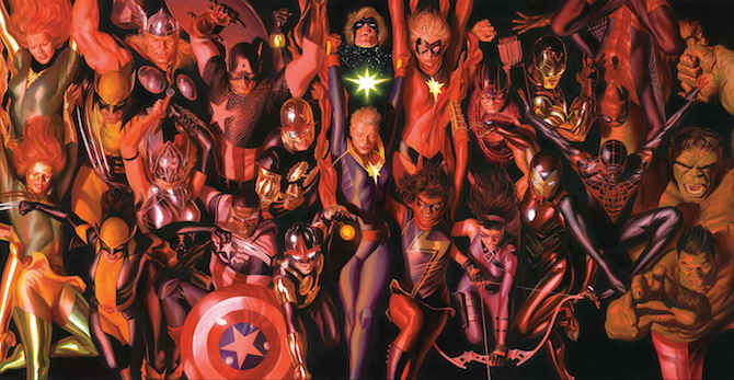 marvel Generations alex ross