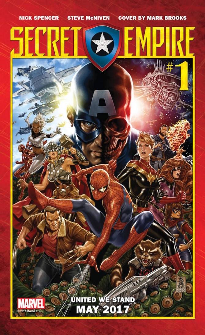 secret empire trama marvel comics