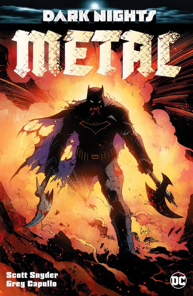 dark nights metal dc comics batman