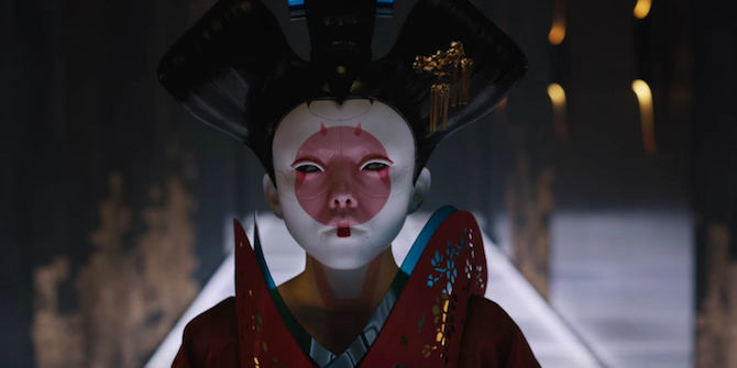 ghost in the shell recensione film