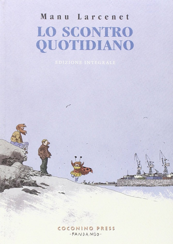 scontro quotidiano larcenet