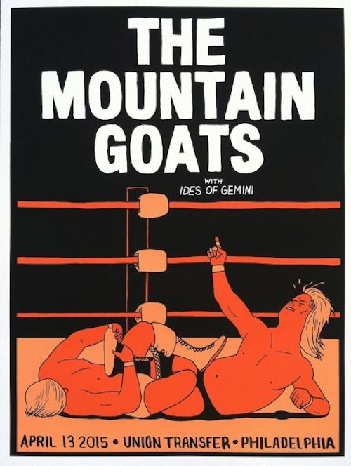 box brown mountain goats