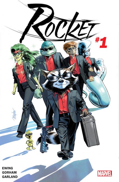 rocket 1 marvel comics