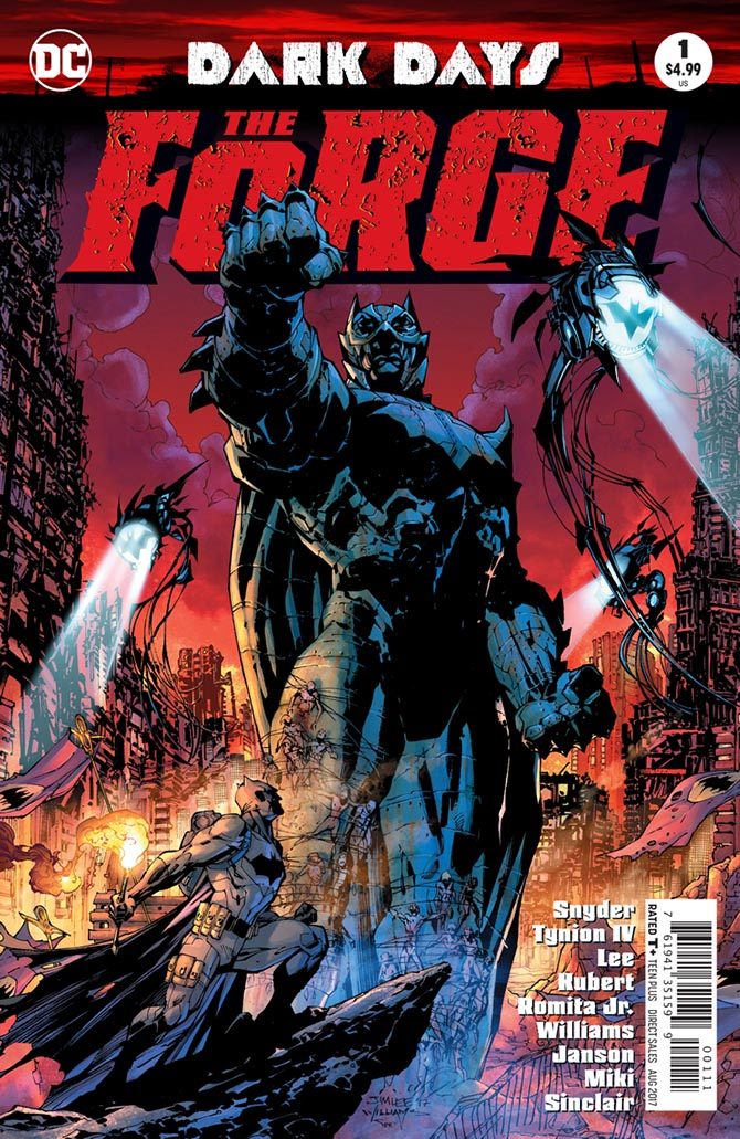 dark days forge batman dc comics