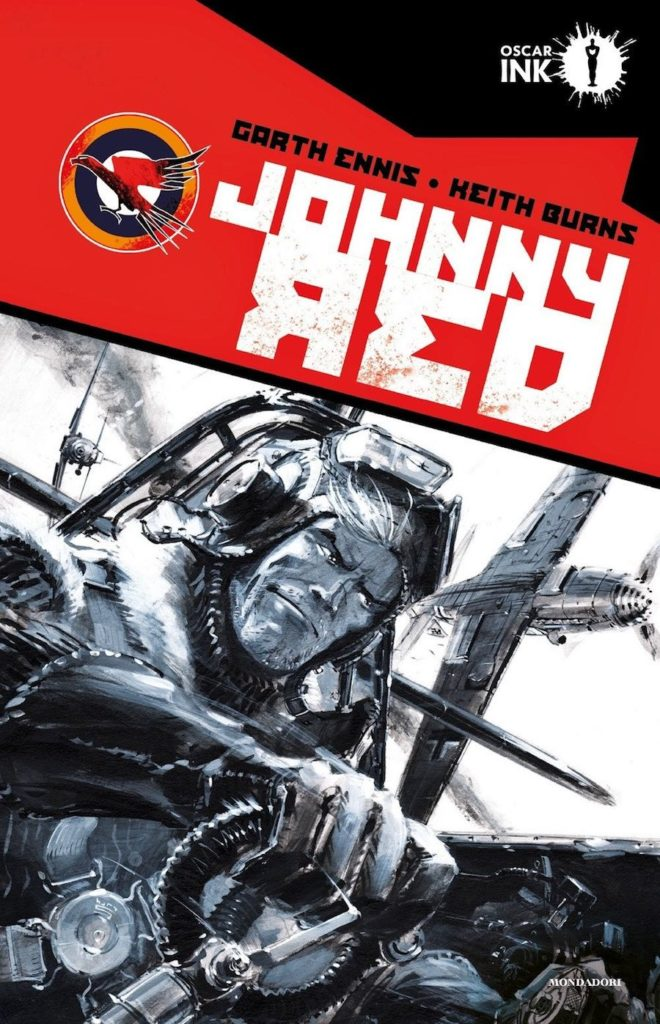 garth ennis johnny red mondadori oscar ink