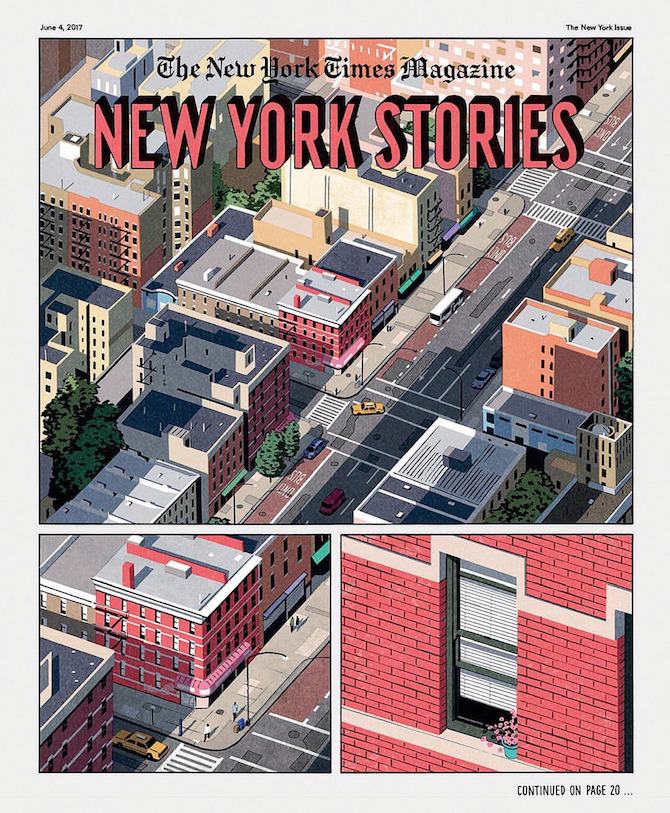 new york times magazine comics