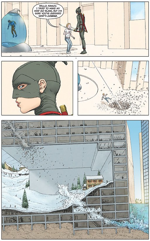 Jupiters legacy frank quitely