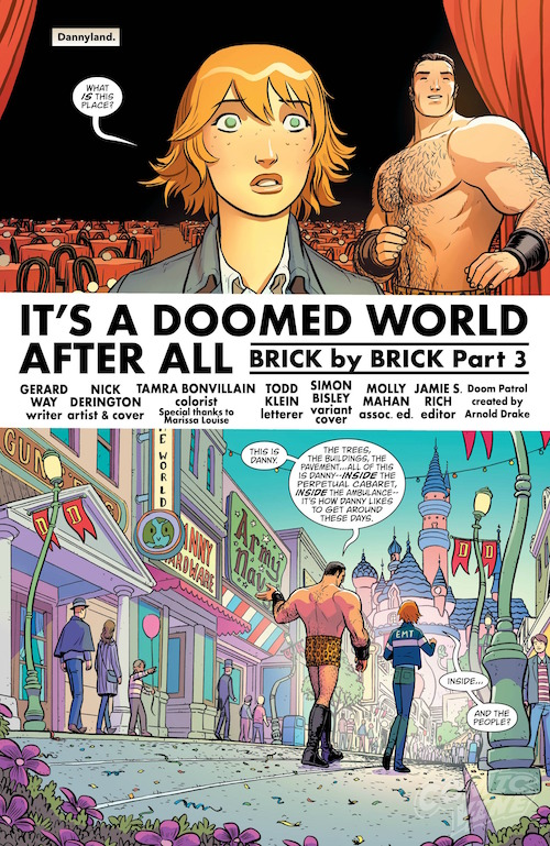 Nick Derington Doom Patrol