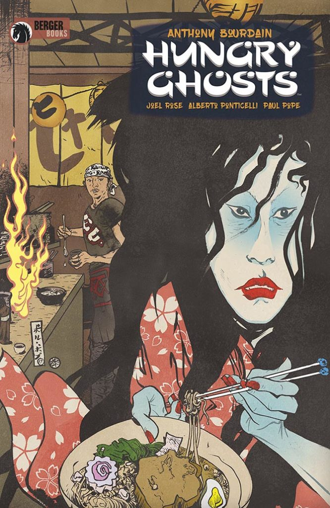 hungry ghosts Anthony Bourdain morto fumetti