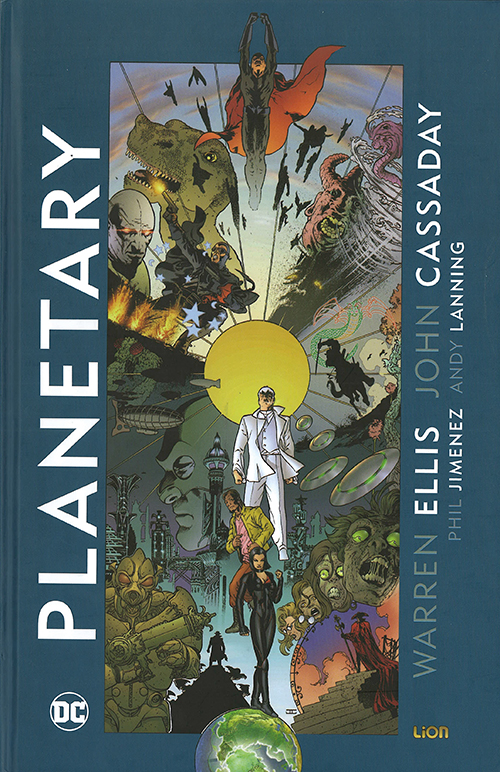 planetary lion comics