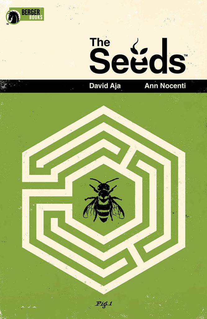 the seeds nocenti aja fumetto