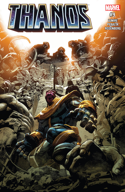 thanos jeff lemire marvel comics