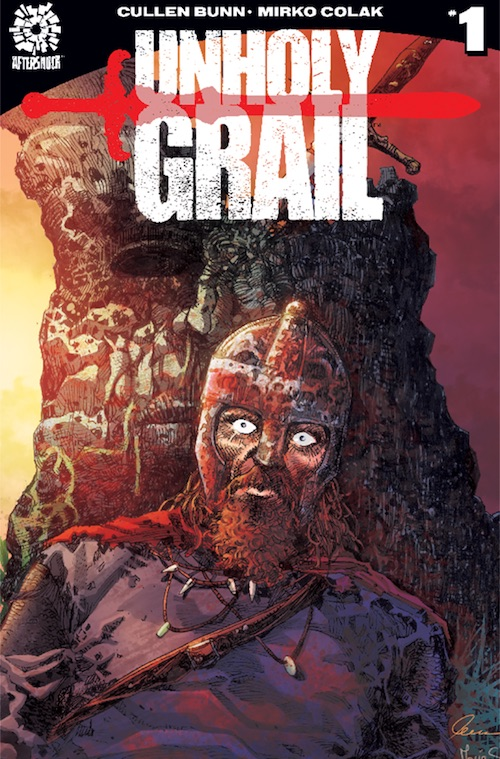 unholy grail aftershock comics