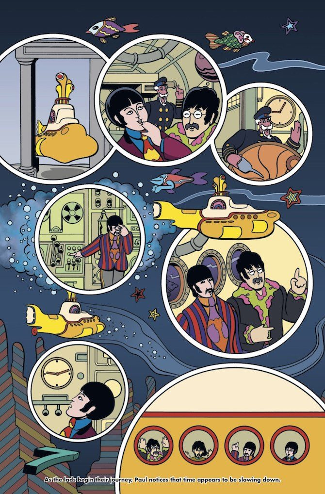 yellow submarine bill morrison
