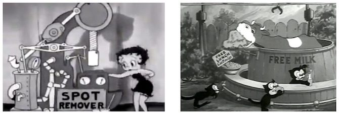 Betty Boop's Crazy Inventions (1933); Be Human (1936)