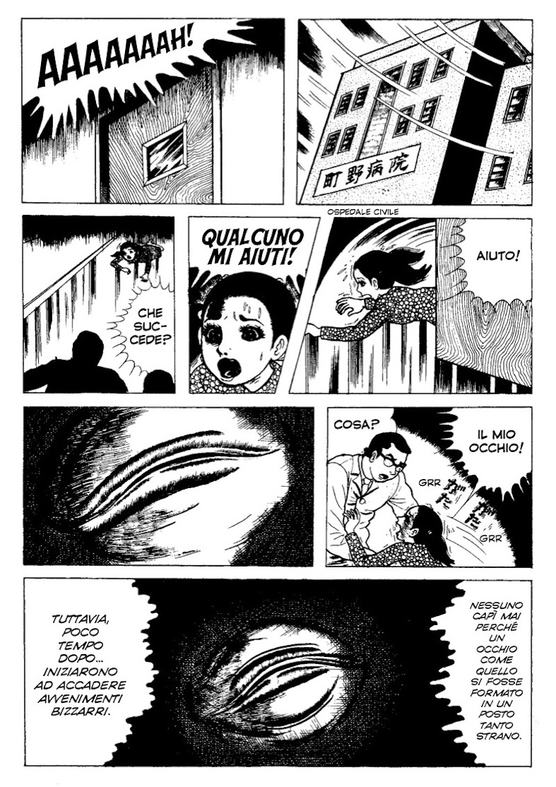Cat Eyed Boy umezu