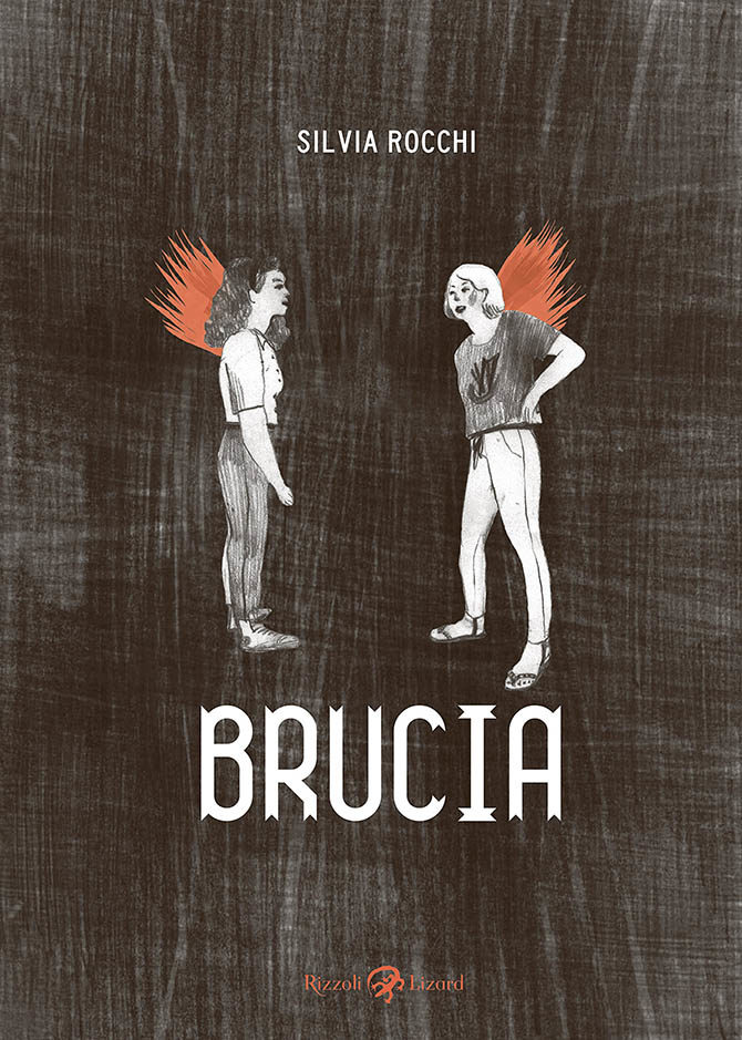 brucia silvia rocchi fumetto graphic novel lizard