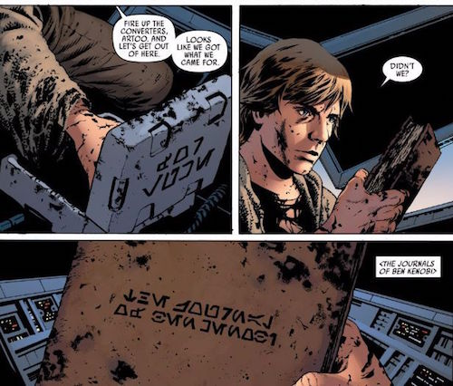 journals ben kenobi jason aaron