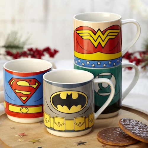 mug justice league regali nerd natale