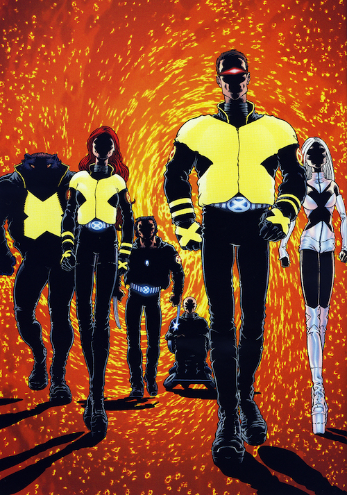 frank quitely x-men