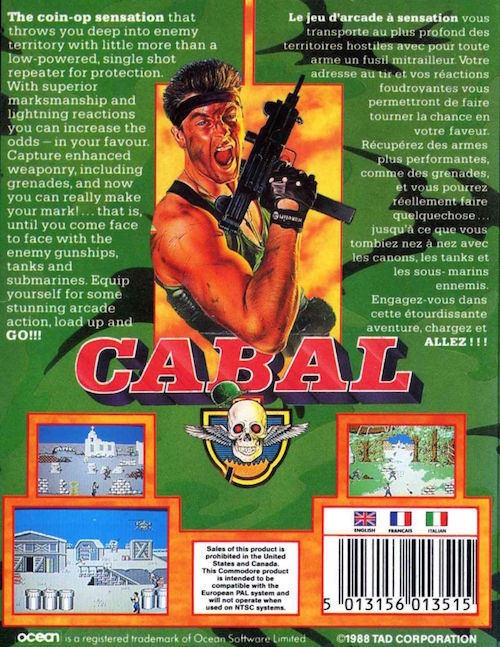 cabal commodore 64