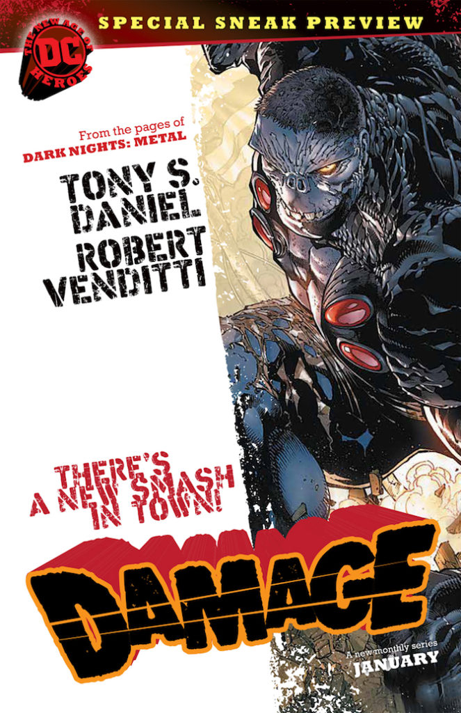 damage dc comics