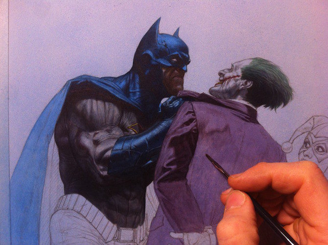 batman murder machine riccardo federici intervista fumetto