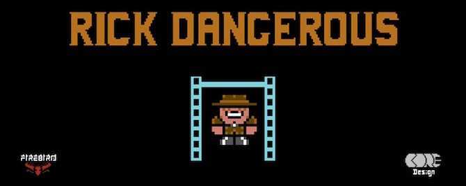 rick dangerous commodore 64