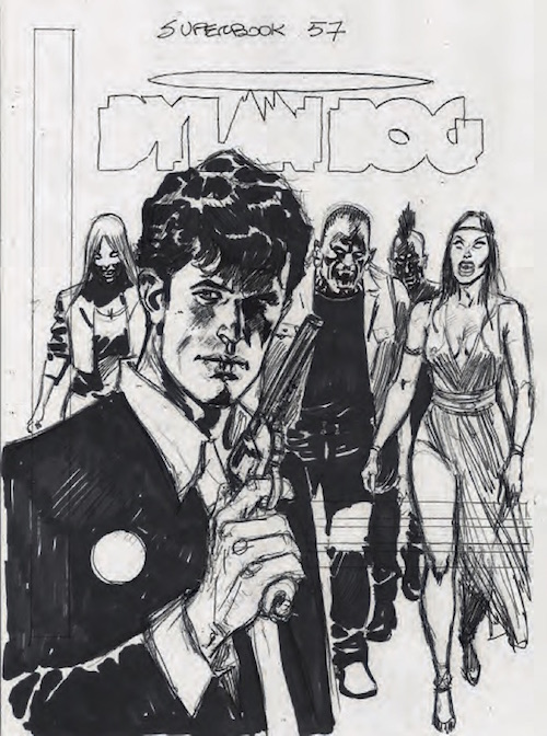 villa dylan dog superbook