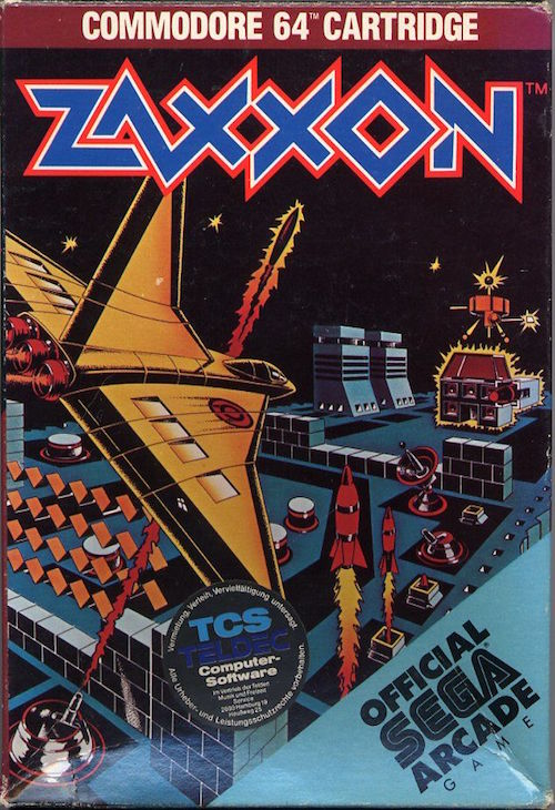zaxxon commodore 64 libro