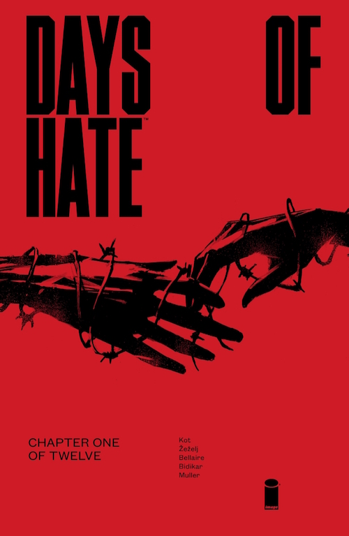 Days of Hate image comics