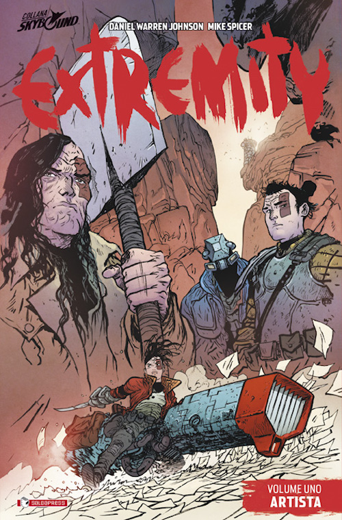 Daniel Warren Johnson extremity saldapress fumetto recensione