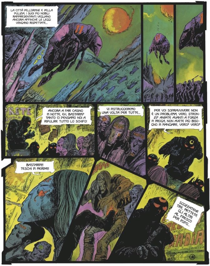 La Notte Druillet magic press fumetto