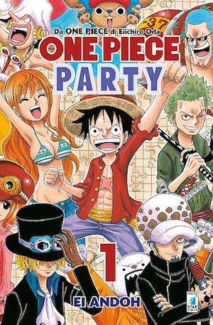 one piece party star comics manga