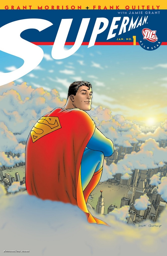 all star superman 1 frank quitely