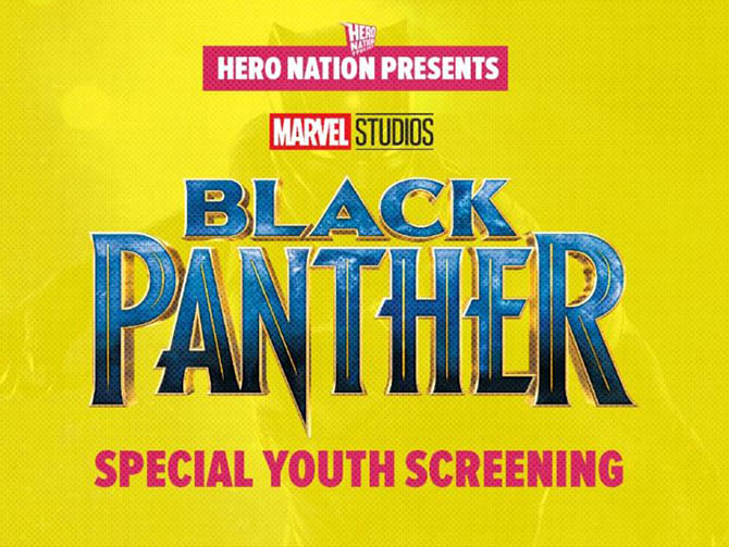 black panther raccolta fondi hero nation