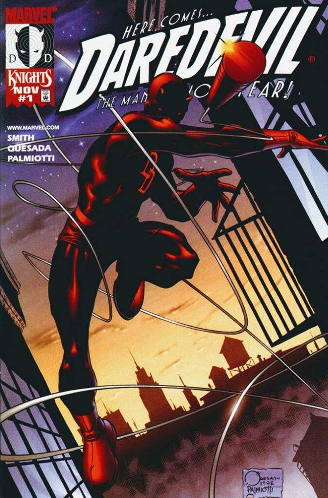 daredevil marvel knights smith quesada palmiotti fumetto