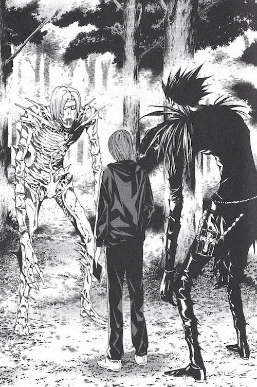 rem death note manga