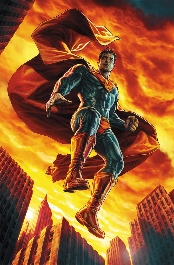 action comics 1000 superman lee bermejo dc comics