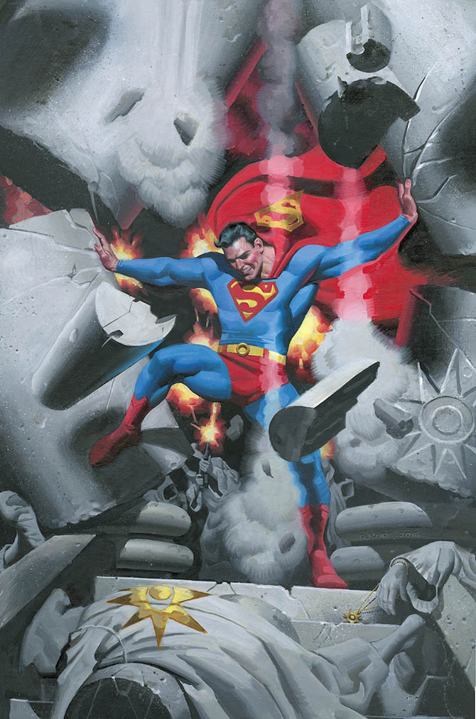 action comics 1000 superman rick rude dc comics