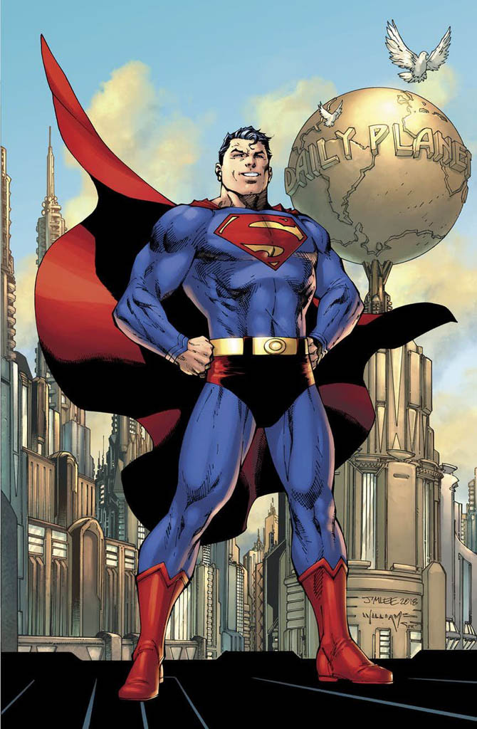 action comics 1000 superman jim lee dc comics
