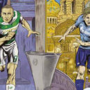 La rivista dei Celtic Glasgow che cita Flash