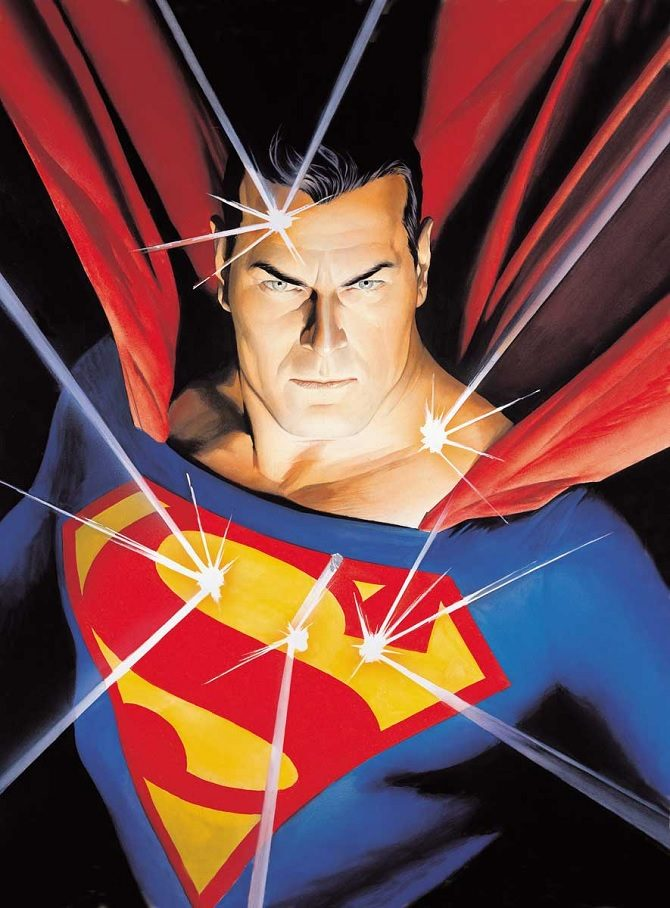 superman alex ross dc