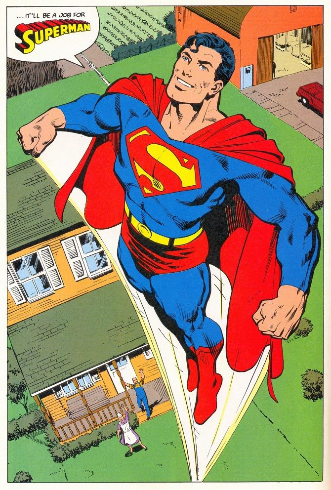 superman john byrne man of steel dc
