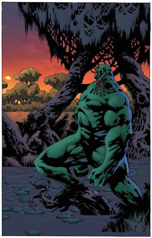 swamp thing winter special tom king dc comics
