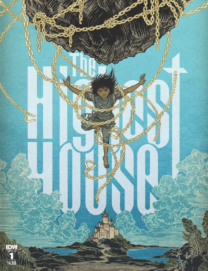Highest House fumetto recensione