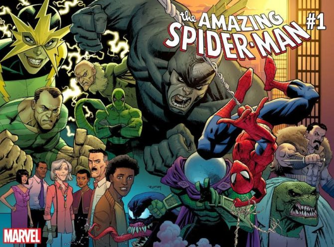 amazing spider-man nick spencer fumetto marvel
