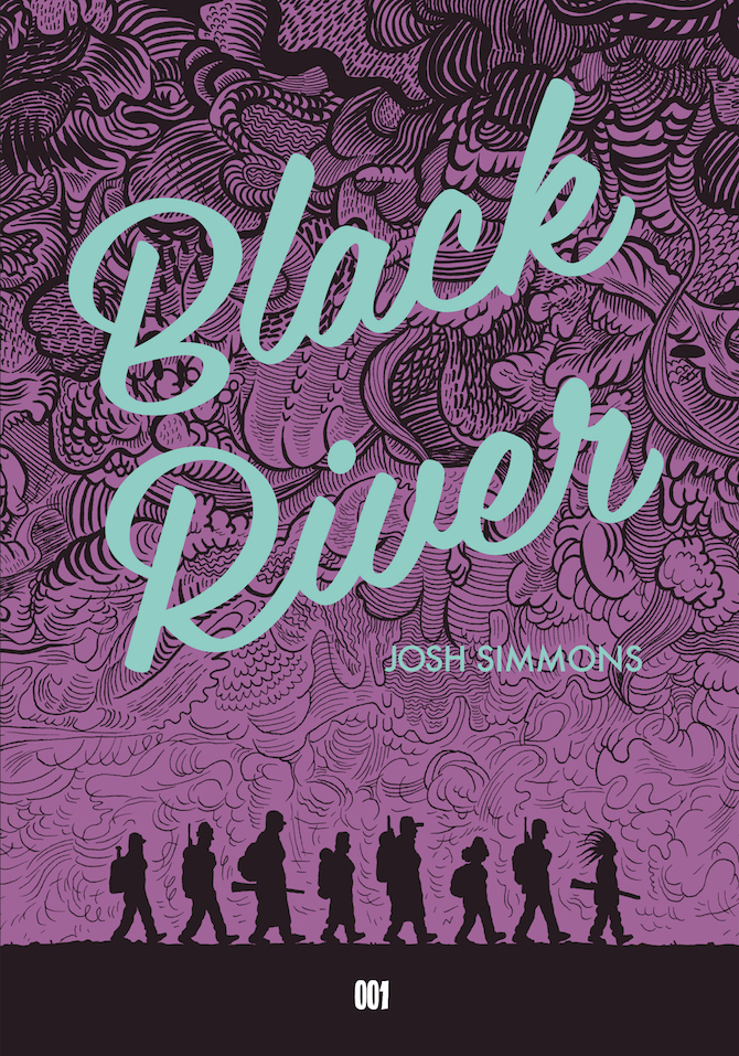 black river josh simmons 001 edizioni graphic novel