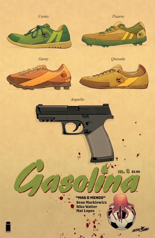 gasolina 6 skybound comics image fumetto